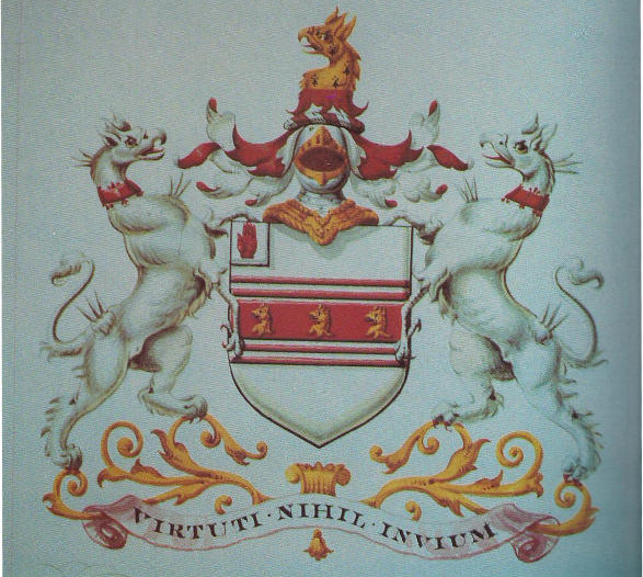 Escudo de Henry William Dashwood con dos grifos masculinos, Heraldry, página 86