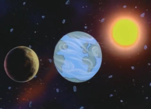 El Planeta Naur, por Universal Animation Studios, modificada por Jakeukalane