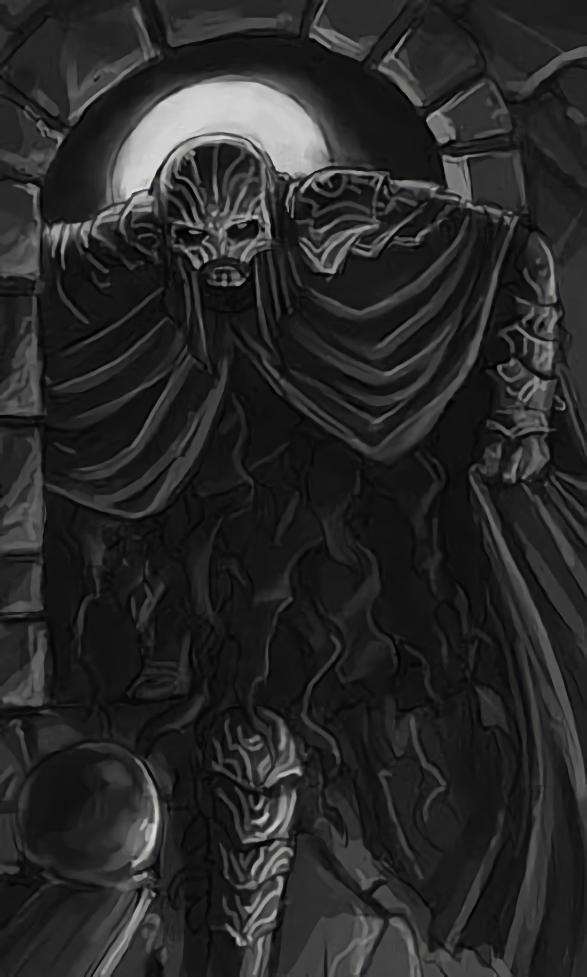 Armadura de un Mago de las Sombras, por Tyler Waypole