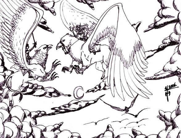 Gryph Battle por Amarokonline