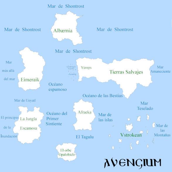 Mapa de Gemra, por Avenigum