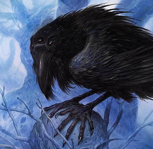 Cuervo de tres ojos, por John Howe
