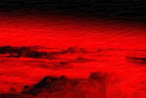 La Planicia Roja contaminada por Absurdiones by tuscriaturas