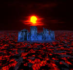 A castle in the Depths of Lava
