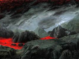 El Plano Inferior de las Pesadillas de Lava by tuscriaturas