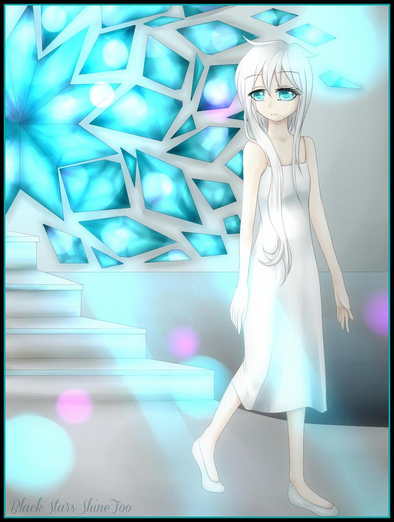 Blue Crystals by BlackStarsShineToo