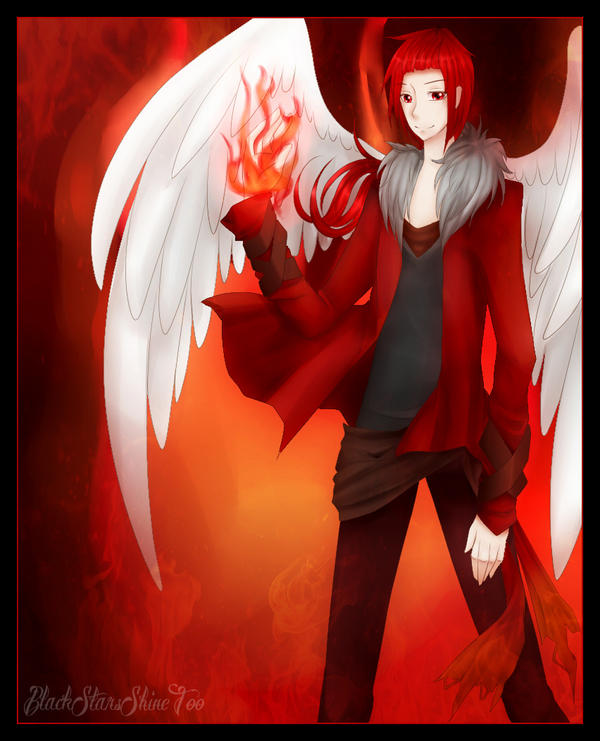 Seraph Of Fire by BlackStarsShineToo