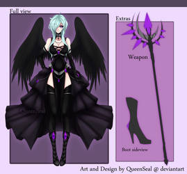 Sorano - Battle Outfit [Satan in High heels] by QueenSeal
