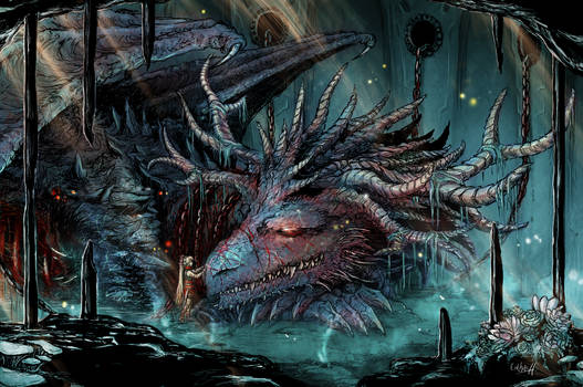 The old war dragon in the forgotten cell