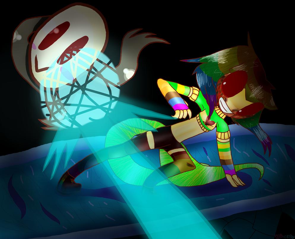 RainBowTale/Chara's mask/Not The~!! by 4kittycom4