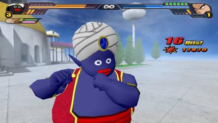 Blue Mr Popo Fusion Mod in Tenkaichi 3