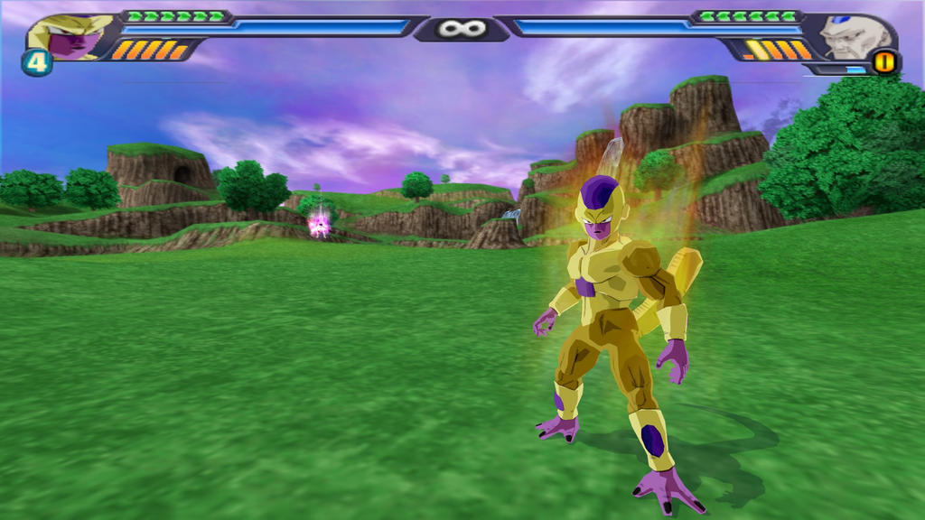 Golden Freeza Mod In Dragon Ball Z Tenkaichi 3 By Grognougnou On