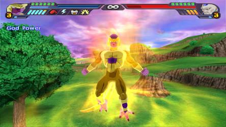 Golden Freeza Power Up (DBZ Tenkaichi 3 Mod)