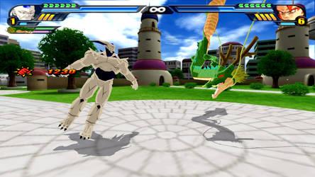 Shenron and Omega Shenron Fusion (DBZ Tenkaichi 3)