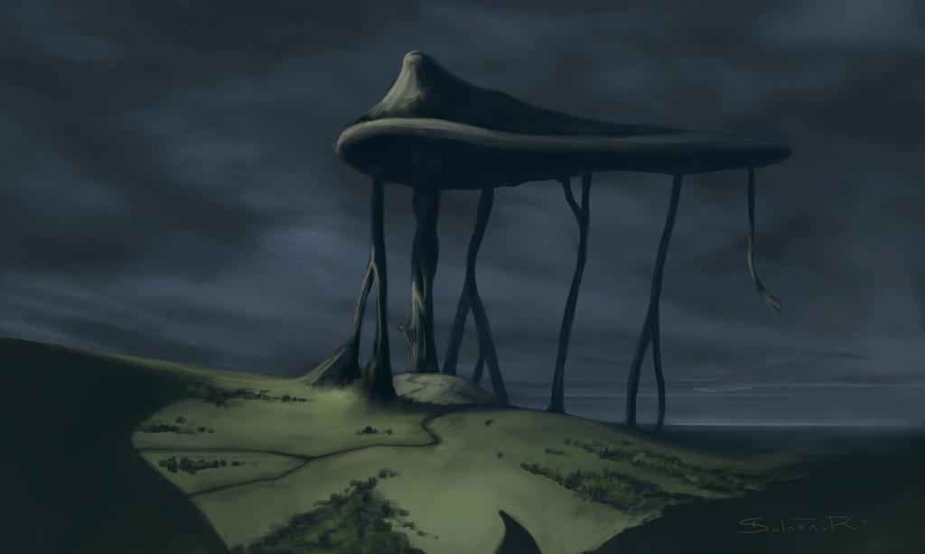 The Great Mushroom by sulakaurisandro