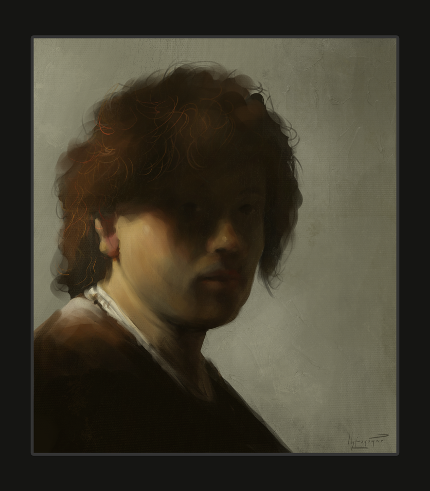 Rembrandt Study by sulakaurisandro