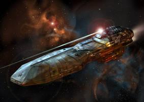Battleship concept by Mirk0
