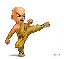 The Monk by Mirk0