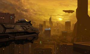 Desert Storm - Kebabpunk city