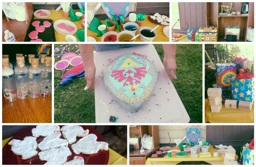 Legend Of Zelda Birthday Party By Angelsbaby101 On DeviantArt