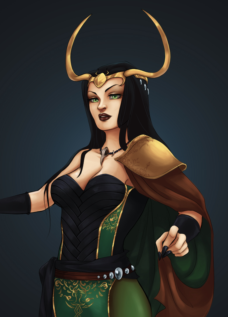 Lady Loki by kaoom