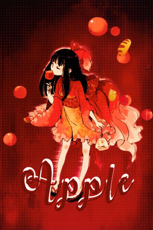 Dia 1:Rojo -Apple- by RyuMiyuki00