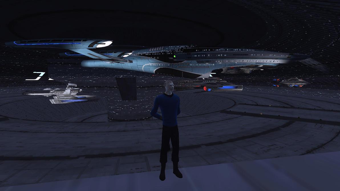 inside space ship docking station - photo #25