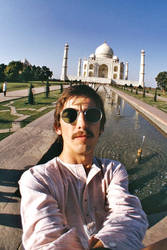 George Selfie in India late 1966 by Just-Kondrad