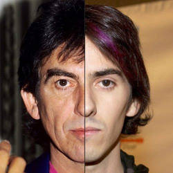 George and Dhani Harrison by Just-Kondrad