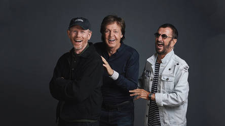 Ron Howard With Paul And Ringo by Just-Kondrad