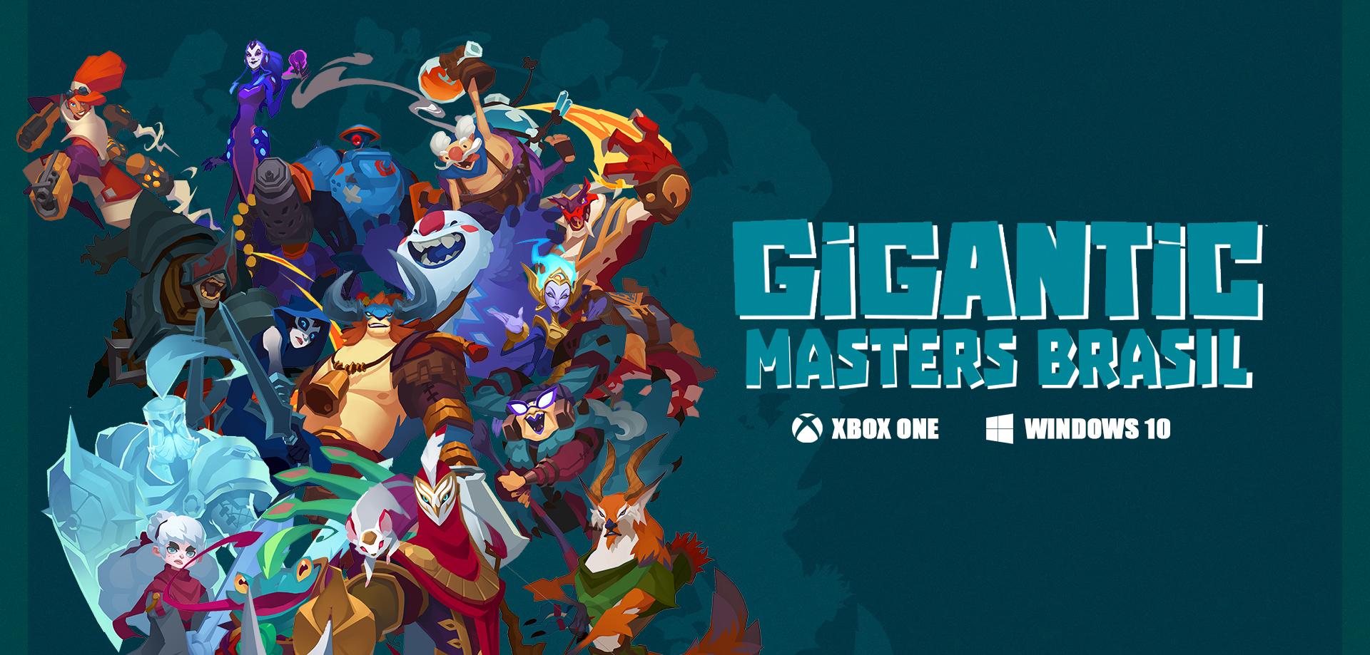 Gigantic Masters Brasil - Capa by dxlucasxb