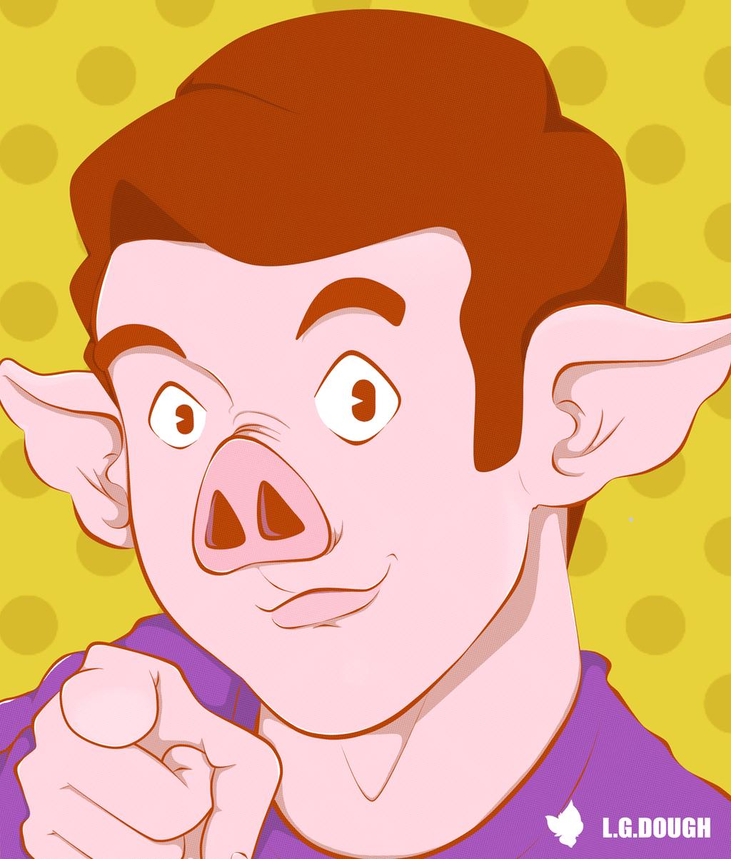 The Pig Boy by dxlucasxb