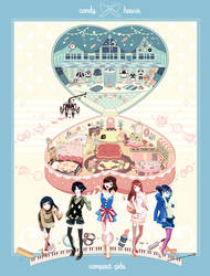 candy*house by chamooi