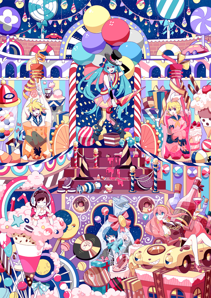 Candy Candle Campaign by chamooi