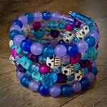 Electra Skull Spiral Bracelet by AnnRavenshieldArtist
