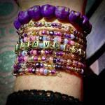 Block Buster Bracelet by AnnRavenshieldArtist