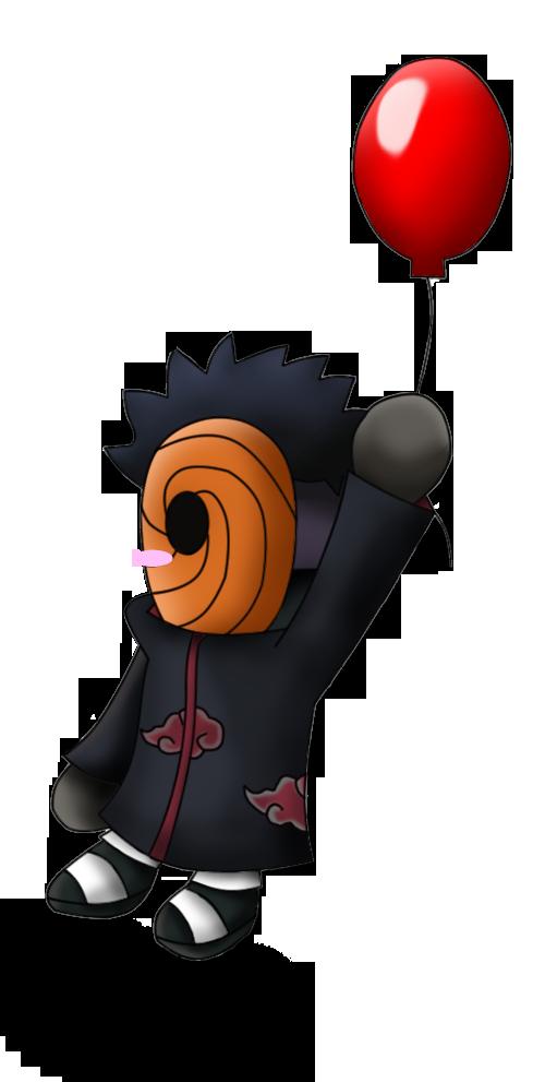 Chibi Tobi - Red Balloon by Shadoukun on DeviantArt Gaara And Naruto Chibi