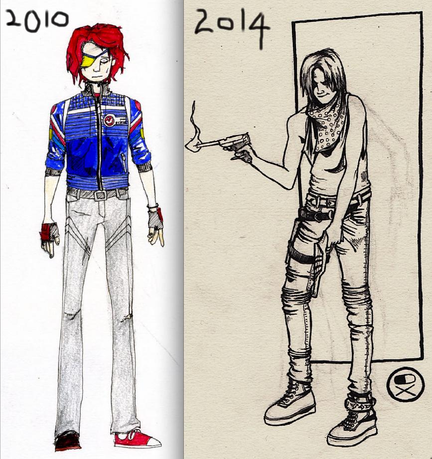 draw this again: gerard by PointyJake