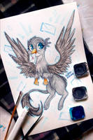 Gabby The Griffon by Woonborg