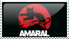Amaral stamp by Luray
