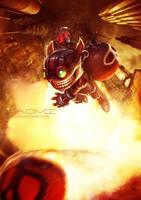 Ziggs the explosive expert by Xaomi