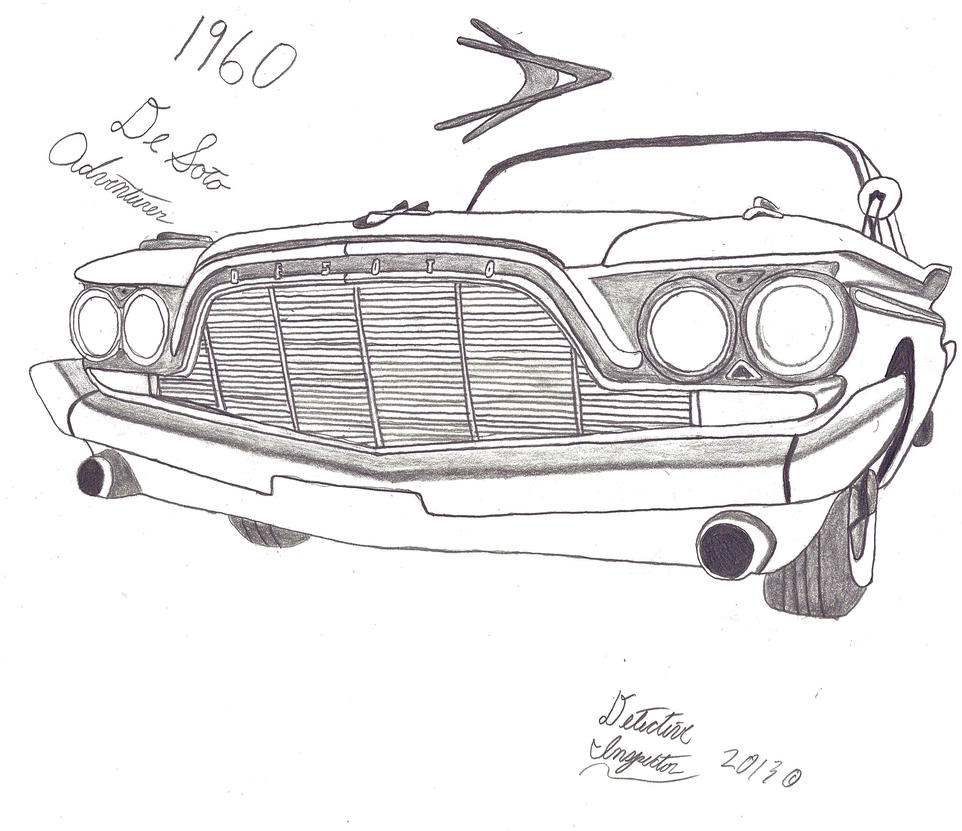 1960 desoto adventurer by detective