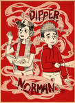 Norman and Dipper united