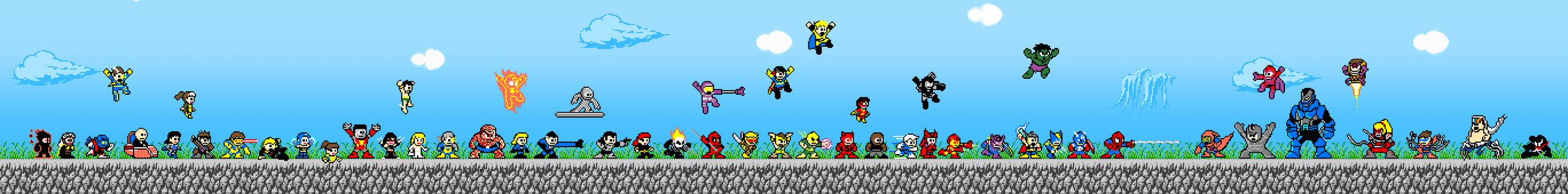 Marvel Megas by suzuran