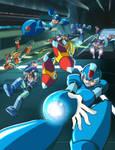 It's Raining Mega Man