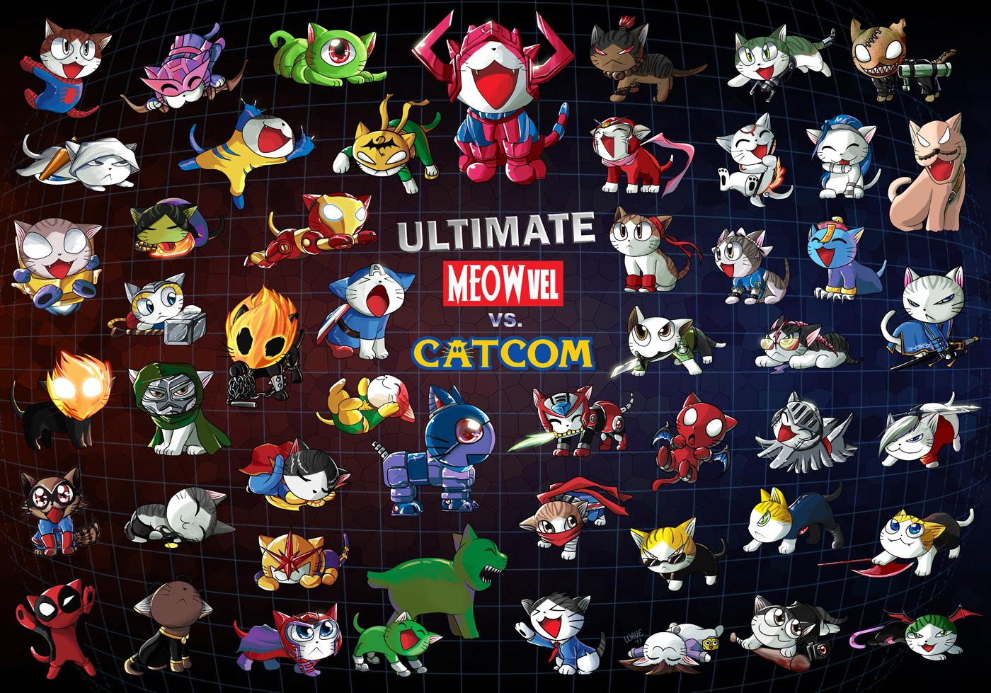 Ultimate Meowvel vs Catcom 3