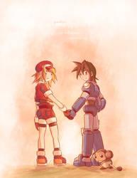 Goodbye Mega Man Legends by suzuran