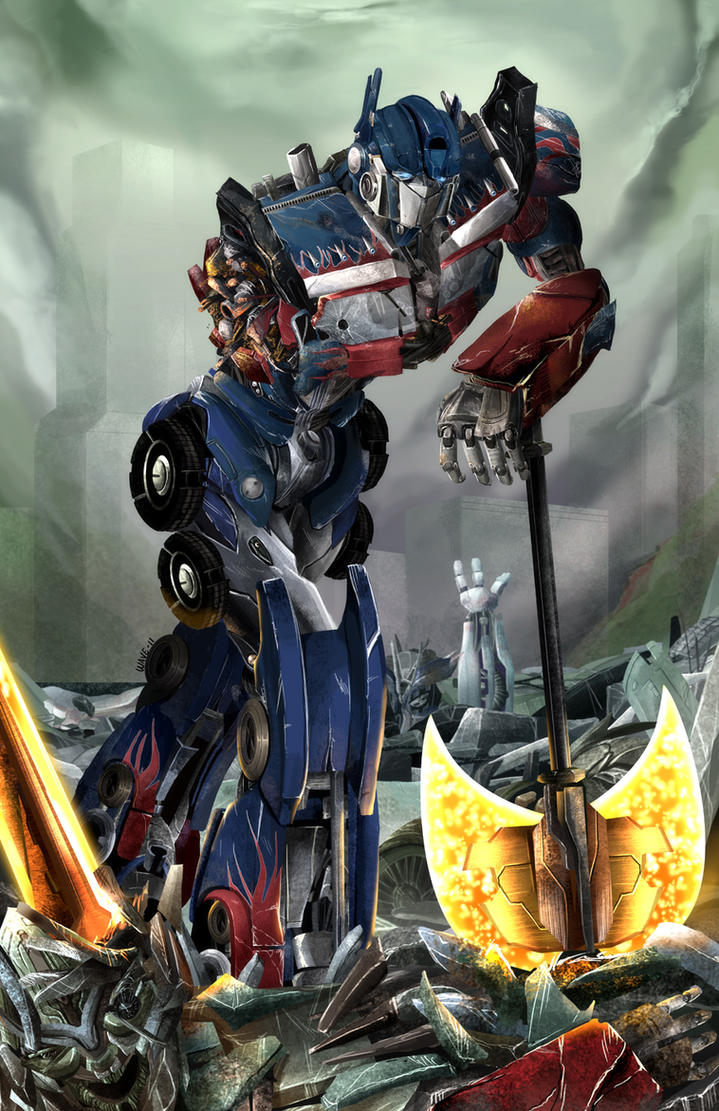 Optimus Prime - Never Give Up by suzuran on DeviantArt Transformers 3 Bumblebee Vs Megatron