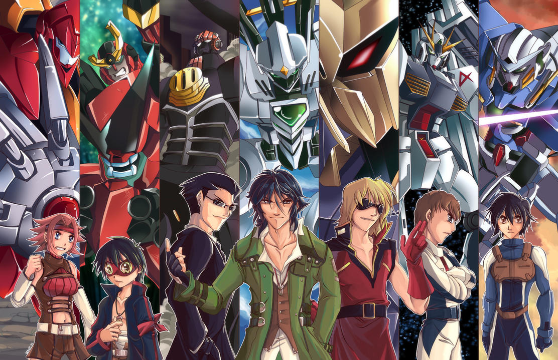 Super Robot Wars Z2 Tribute by suzuran