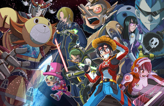 One Piece Adventures in Space